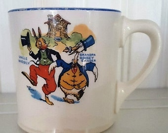 Uncle Wiggily Ovaltine Cup