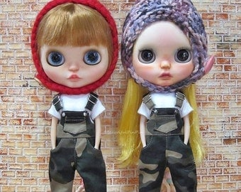 Blythe outfit : Army overalls