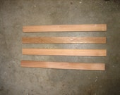 CUSTOM ORDER  for Shannon Peters -  Cedar Wood Ridge Caps, Aluminum Ridge Caps, Corrugated Metal