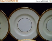 Valentine SALE Art Deco Mintons China of England H3618 (6) Dessert Plates
