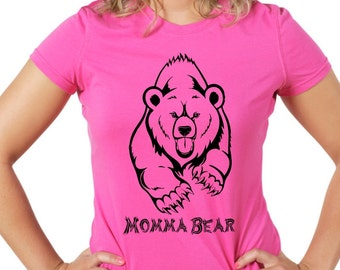 Momma Bear Custom Tshirt