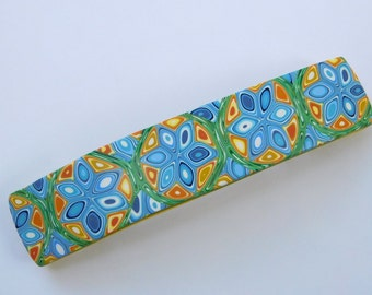 Polymer Clay Hair Barrette, clip