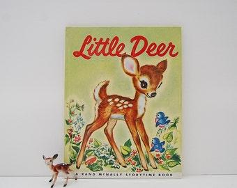 Little Deer Book, Vintage Kid's Book, Rand McNally Storytime Book