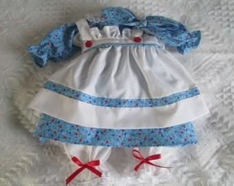 Handmade 18-20'' Raggedy Ann Dress