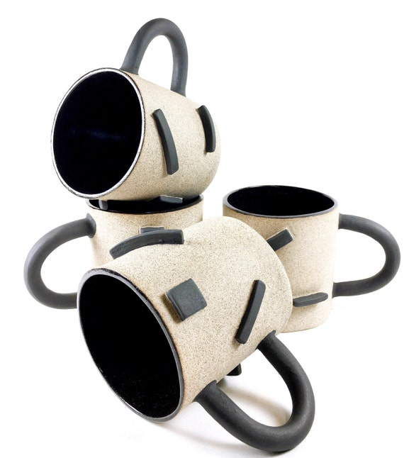 Black Dash Mugs