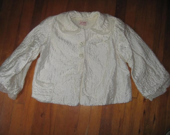 Vintage 50/60's Jay Ann Quilted Bed Jacket Loungewear