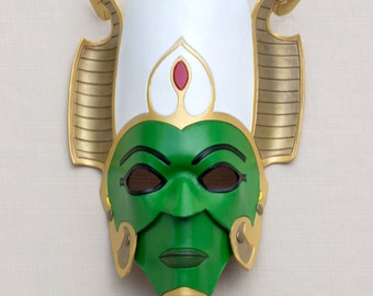 Egyptian God of Afterlife, Osiris - Handmade Leather Mask