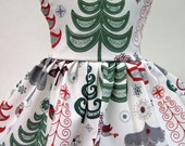 NEW Metallic Trees, Winter and Holiday Dress