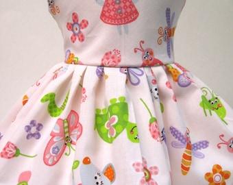 Garden Mouse Sleeveless Dress for your American Girl Doll B