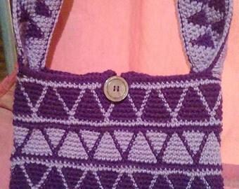 Purple Triangles