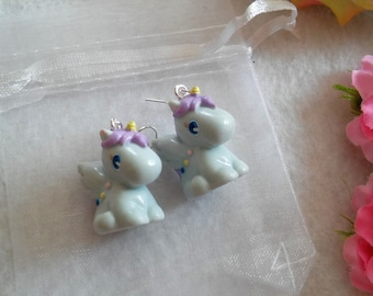 Pair of Unicorn Earrings