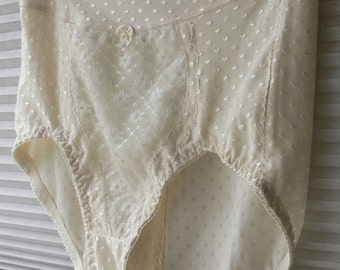 cream panties panties size large