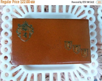 Now On Sale Swank Jewelry Box Vintage Collectible Travel Case 1960's Accessories Mad Men Mod Mid Century Modern