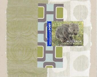 Animals: Collage Card