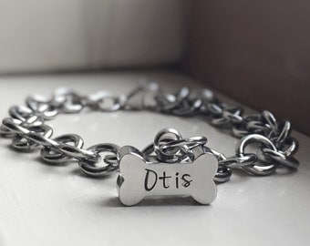 Pet Memorial Bracelet Urn Cremation Cremains Jewelry Bone Urn Includes Funnel to Transfer Ashes
