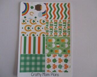 SALE!!! St. Patrick's Day Washi Stickers
