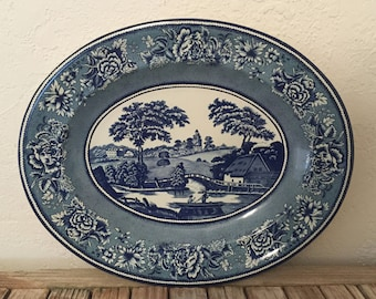 Vintage English Daher Metal Platter
