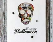 Sugar Skull Shaker Card