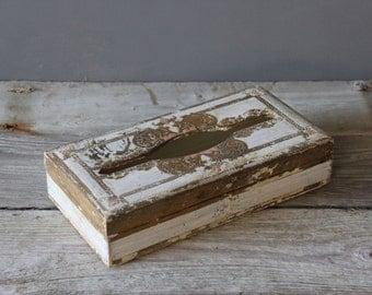 Florentine Gilt Italian Tissue Box