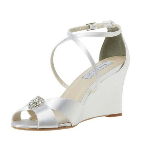 wedding shoes wedding wedges bridal shoe wedges custom