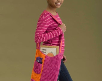 School's in Session Tote - Crochet Pattern