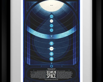 Spacevidcast - Oceans in Space - Poster