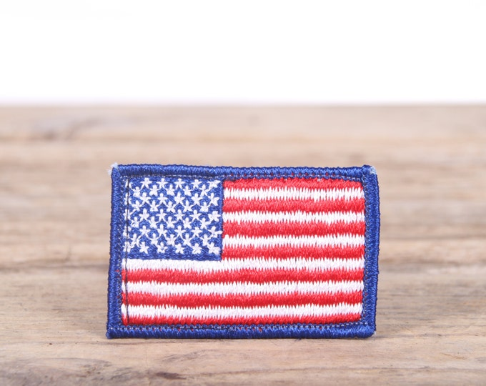 Vintage Scout Patches / American Flag Scout Patch / USA Patch / Flag Patch / Grunge Patches / Punk Patches / Retro Patch