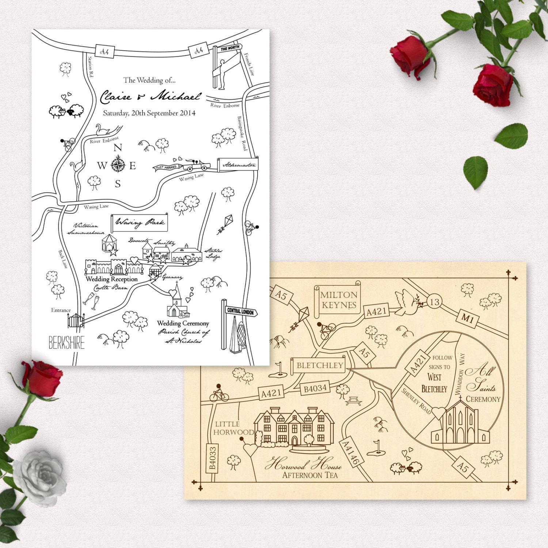printable wedding invitation maps - 28 images - best ideas direction ...