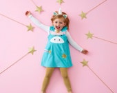 Unicorn dress for pretend play, unicorn party fancy dress