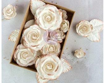 "Prima Marketing Boxed Flowers - Rose Gold .825"" - 2.5"" 24/Pkg"