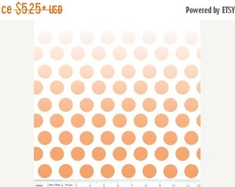 SPRING SALE Orange Ombre Dots From Riley Blake