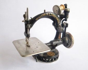 Antique Sewing Machines, Willcox and Gibbs Sewing Machine Co