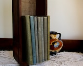 antique French book bundle