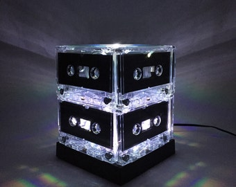 Conversation Piece Mixtape Light White Cassette Tape Light