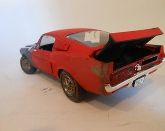 Rusted Wreck Classicwrecks Scale Model Mustang Car