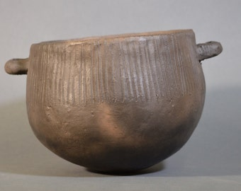 Replica Neolithic Windmill Hill Pottery Bowl, original ca 4000BC