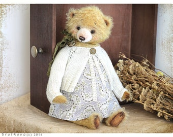 PATTERN Download to create Teddy like Lola 15 inch OOAK