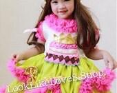 Girls Birthday Dress Dress and birthday cake headband for Baby Toddlers 12 24 Months Girls 2 3 4 5
