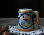 Tourist Souvenir Florida Shaker with Flamingo