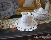 Blue Royal Creamer/Jug Dollhouse