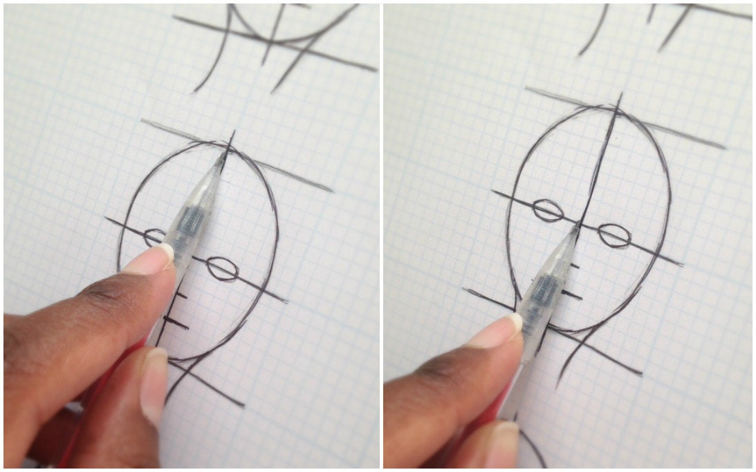 how to draw faces pdf