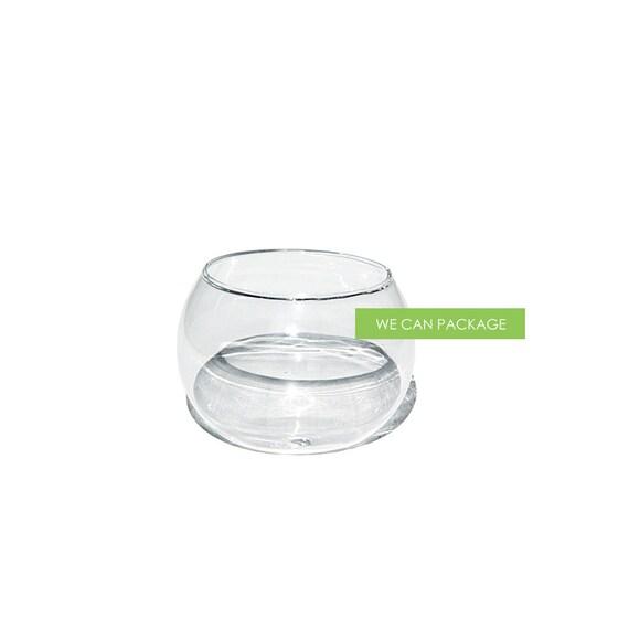 3 inches mini glass fish bowl 12pk for Mini fish bowls