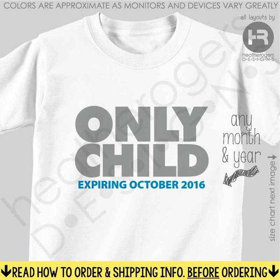 Big Brother Shirt or Bodysuit - Only Child Expiring Shirt / Big Brother Shirt  (Grey) - Pregnancy Announcement Shirt