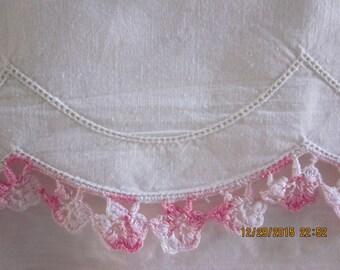 Antique/Italian Bedlinens/Cottage Chic Linen/Italian Bedlinen/French Bedlinen/antique Bedsheet/Estate Linens/cottage decor/vintage percale