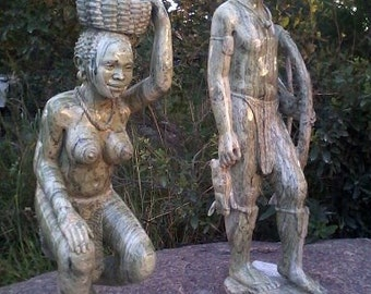 bushmen couple