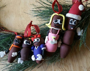 The Hankey Family Christmas Poo Ornament Collection - South Park -Comedy - Polymer Clay - Mr. Hankey