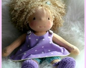 11 in Waldorf Inspired Doll by Jemilynndolls Ready To Ship