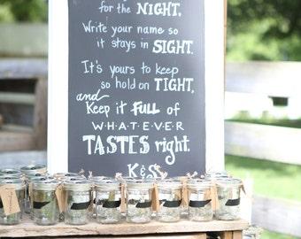 Mason Jar Wedding Favors,Mason Jar Labels,Rustic Wedding Decor,100 Chalkboard Labels,Mason Jar Labels,Wedding Favors Rustic,Wedding Favor