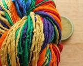 Pure Rainbow - Merino Wool Worsted Weight Handspun Yarn