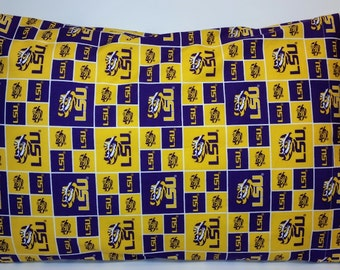 LSU Pillowcase